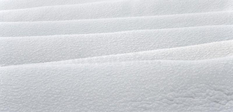 Textura de la nieve imagen de archivo