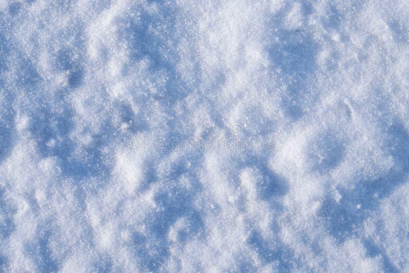 Textura de la nieve del invierno imagenes de archivo