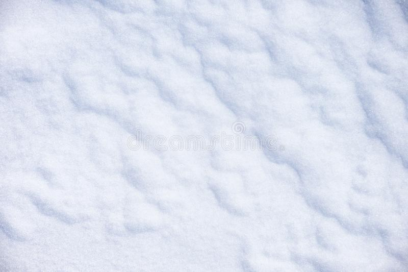 Textura de la nieve del invierno foto de archivo