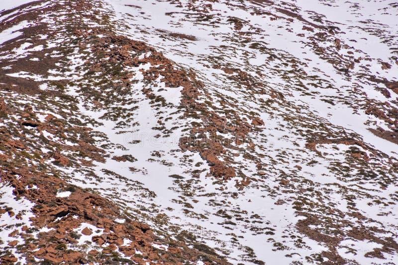 Textura de la nieve para el fondo imagenes de archivo