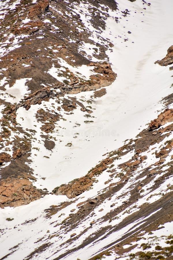 Textura de la nieve para el fondo fotos de archivo libres de regalías