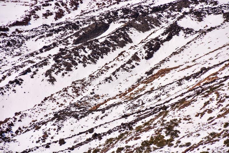 Textura de la nieve para el fondo imagen de archivo