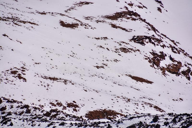 Textura de la nieve para el fondo foto de archivo libre de regalías