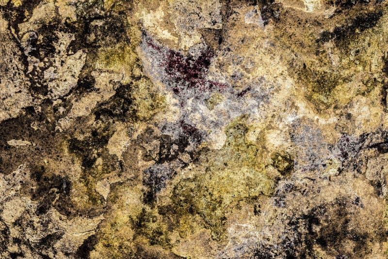 Textura de la pared antigua vieja, capa destruida de yeso del muro de cemento, fondo abstracto del grunge oscuro imagen de archivo libre de regalías