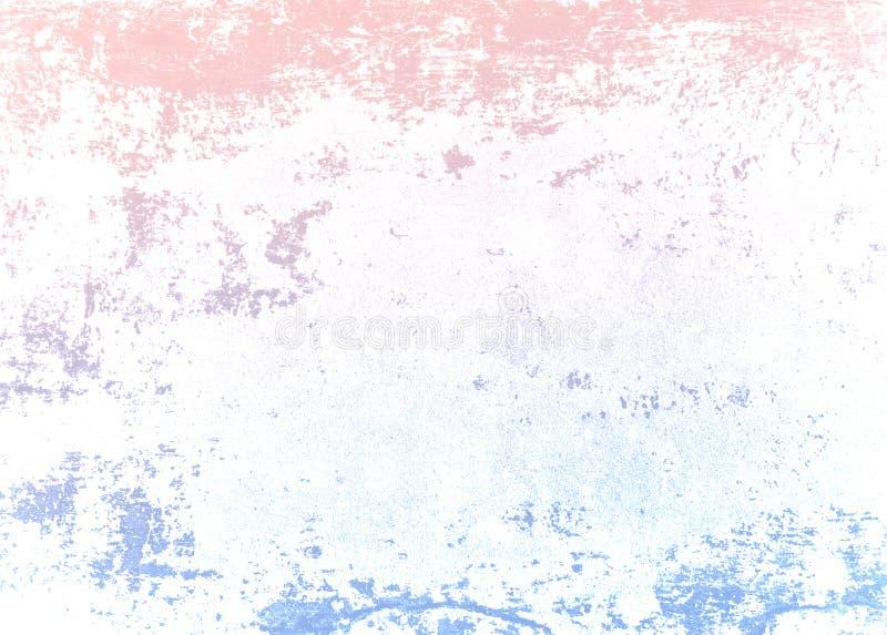 Textura de la pared de la pendiente Rose Quartz y de la serenidad Textura del muro de cemento libre illustration