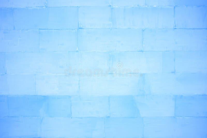 Textura de la pared de ladrillo del hielo fotografía de archivo libre de regalías