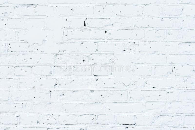 Textura de la pared de ladrillo pintada, enyesada, preparada para dibujar la pintada creativa Para los fondos y los contextos fotos de archivo libres de regalías