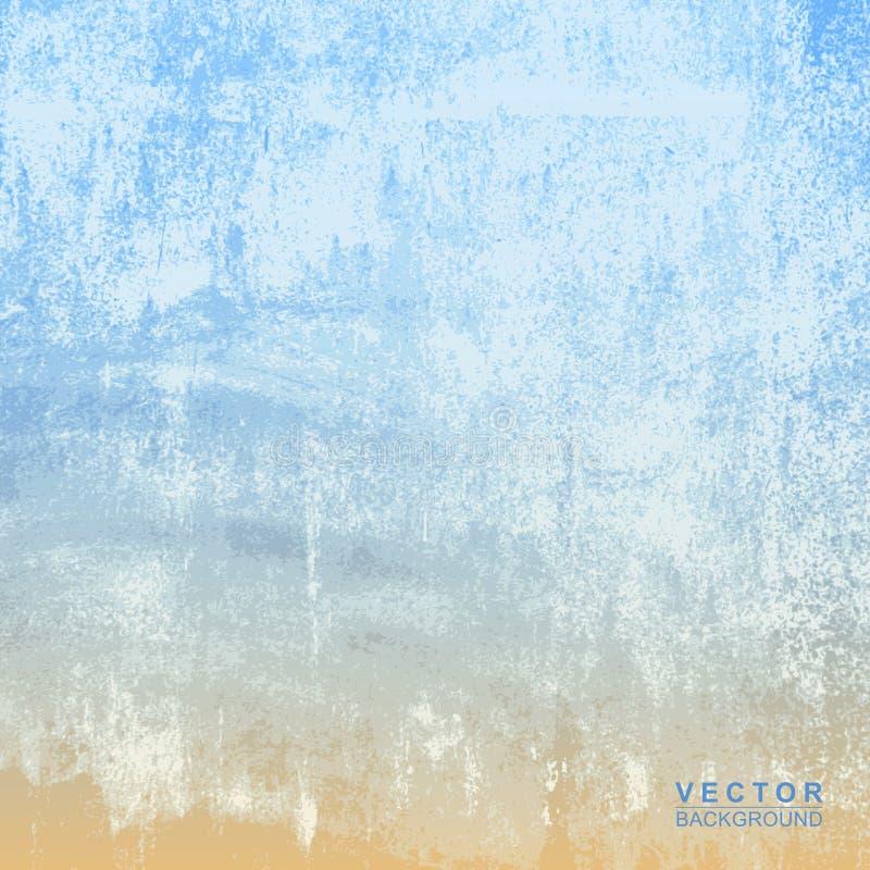 Textura de la pared del cemento para el fondo stock de ilustración