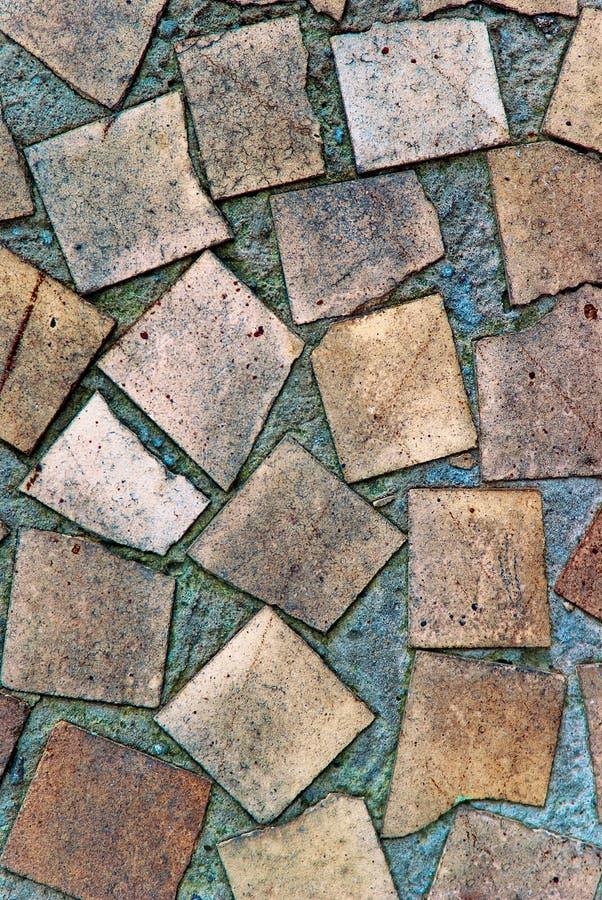 Textura de la pared del mosaico imagenes de archivo