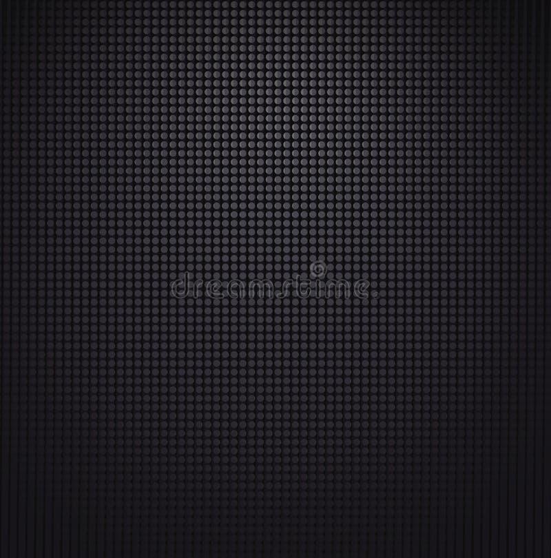 Textura de la parrilla del altavoz. Vector stock de ilustración