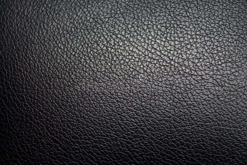 Textura de la piel del asiento de carro fotografía de archivo libre de regalías