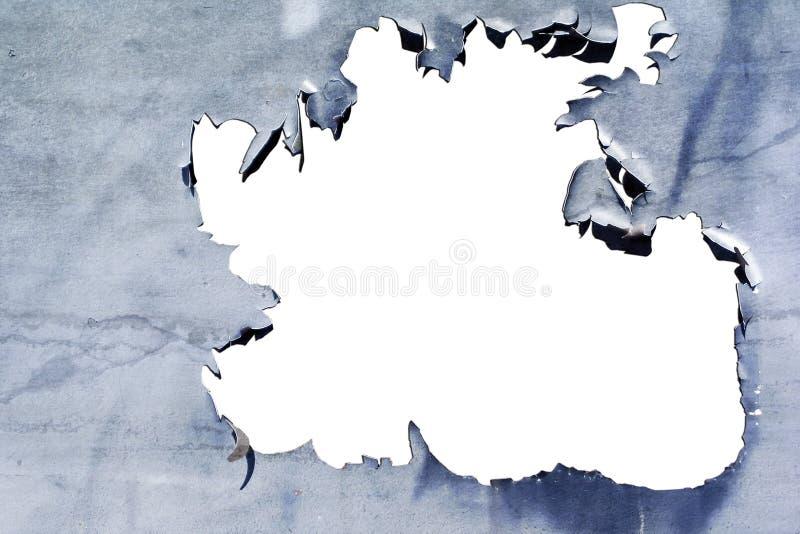 Textura de la pintura de la peladura fotografía de archivo libre de regalías
