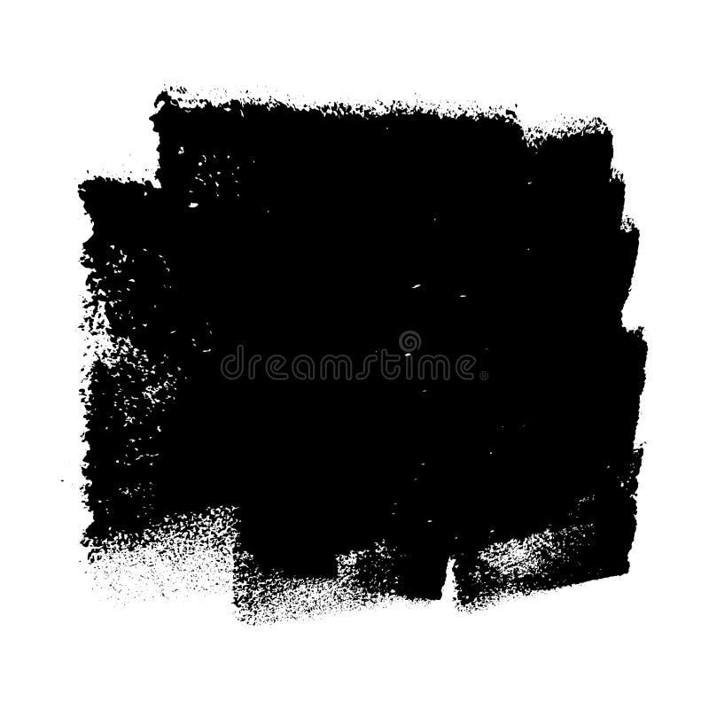 Textura de la pintura del rodillo libre illustration