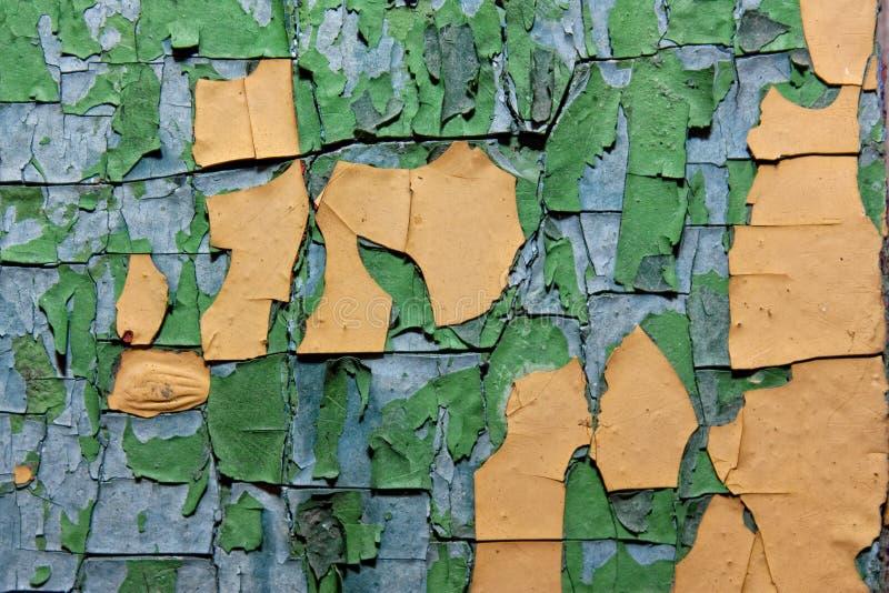 Textura de la pintura vieja fotografía de archivo
