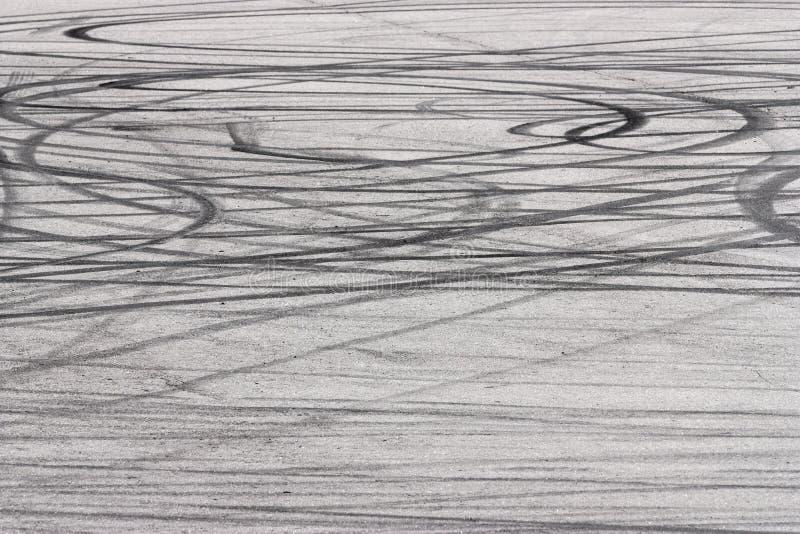 Textura de la pista del neumático imagen de archivo