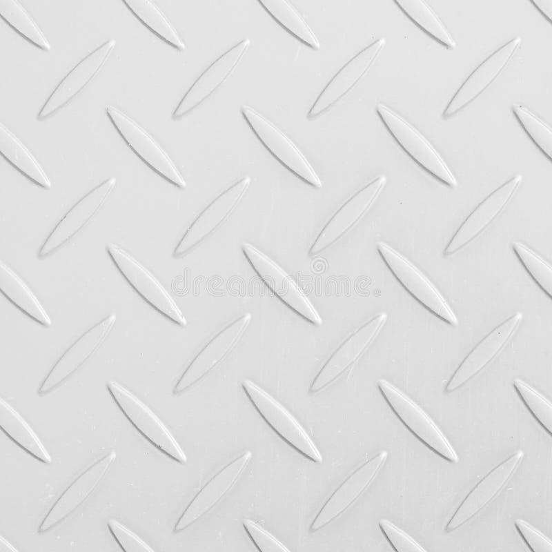 Textura de la placa de piso del diamante del metal foto de archivo libre de regalías