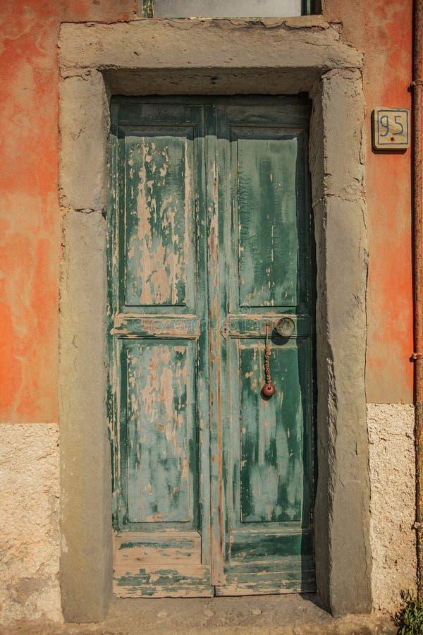 Textura de la puerta de entrada foto de archivo libre de regalías
