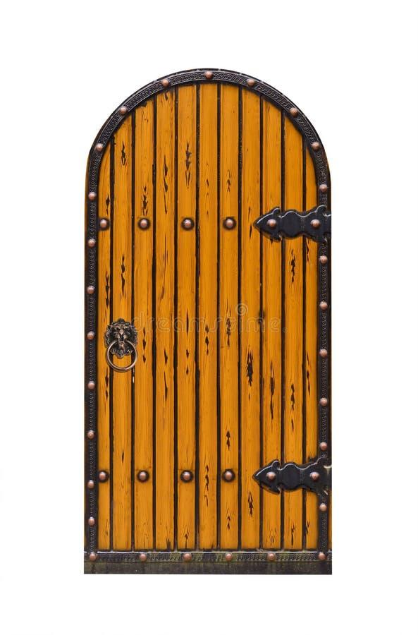 Textura de la puerta del arco de la fortaleza fotografía de archivo libre de regalías