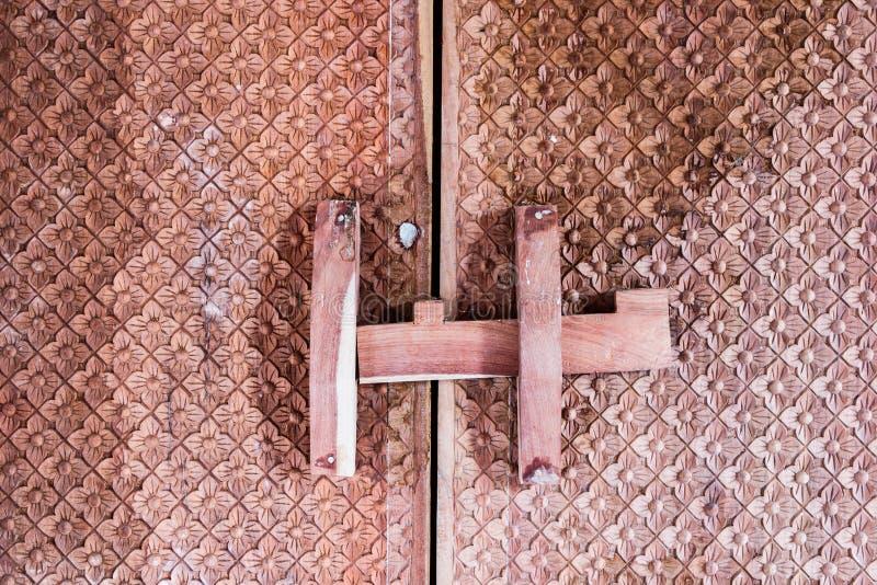 Textura de la puerta del templo imagen de archivo