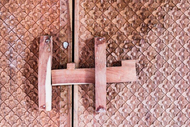 Textura de la puerta del templo fotos de archivo libres de regalías