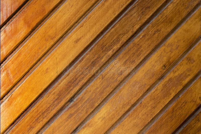 Textura de la puerta de madera barnizada foto de archivo libre de regalías