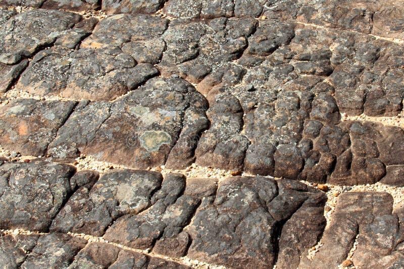 Textura de la roca de la montaña foto de archivo