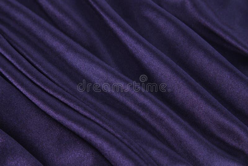 Textura de la seda del azul real imagen de archivo libre de regalías