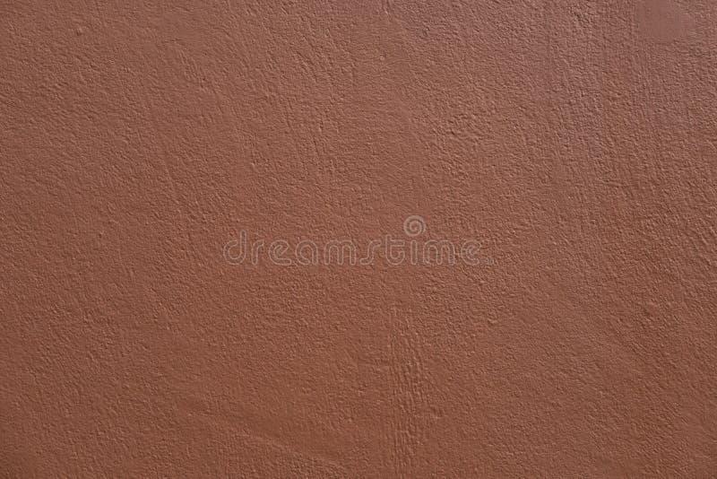 Textura de la superficie concreta marr?n fotografía de archivo