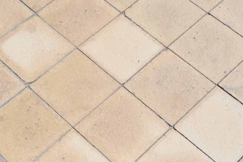 Textura de la teja de tierra al aire libre de la piedra arenisca fotos de archivo libres de regalías