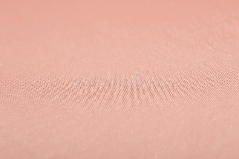 Textura de la tela color de rosa del oro imágenes de archivo libres de regalías