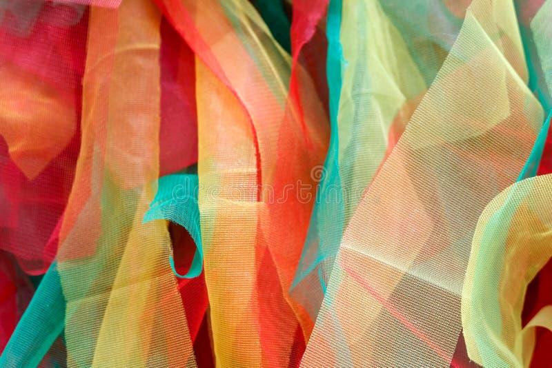 Textura de la tela colorida, multicolor farbric imagen de archivo libre de regalías