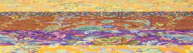 textura de la tela del brocado fotos de archivo