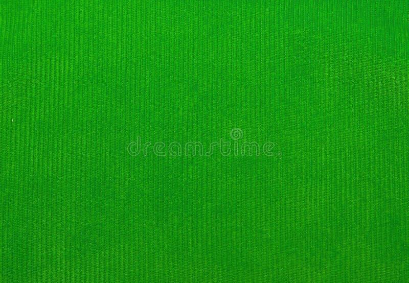 Textura de la tela del terciopelo, verde, para los fondos foto de archivo libre de regalías