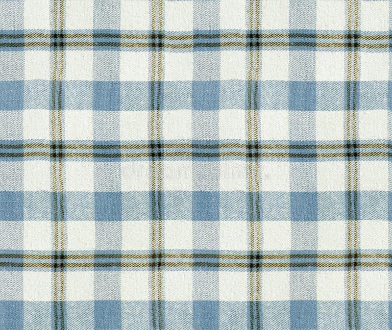 Textura de la tela escocesa de la tela Modelo inconsútil de la tela escocesa/fondo a cuadros del mantel imágenes de archivo libres de regalías