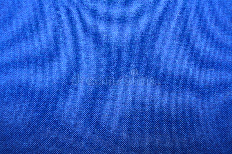 Textura de la tela, fondo azul fotos de archivo