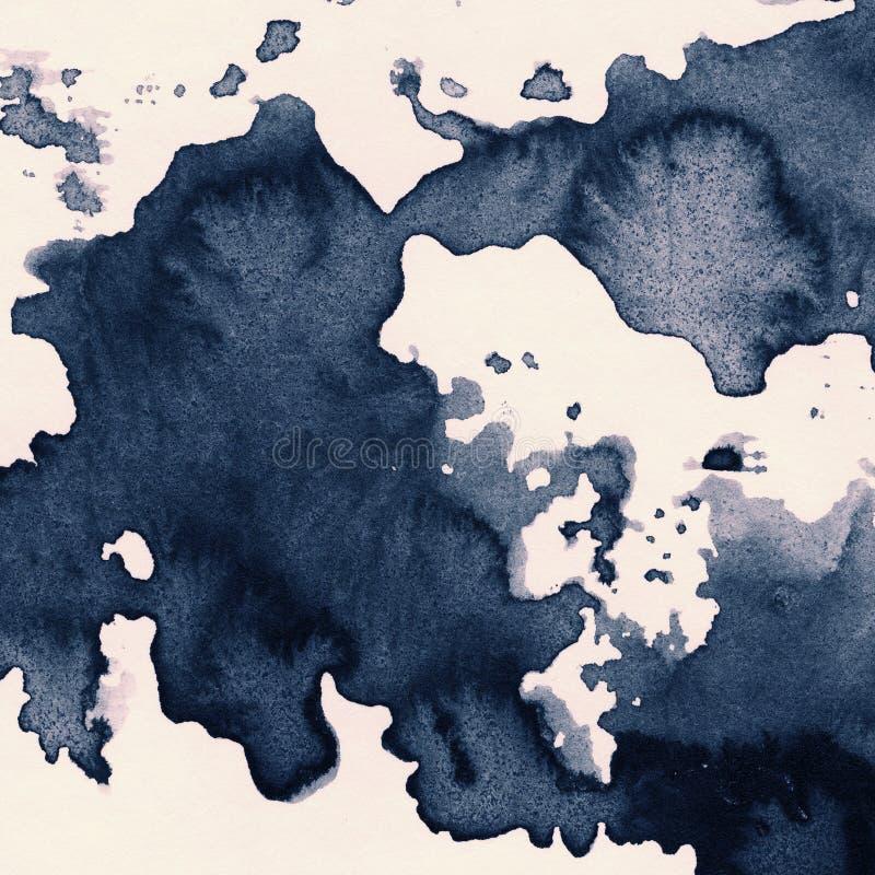 Textura de la tinta libre illustration