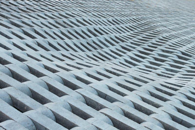Textura de ladrillos concretos grises. fotos de archivo libres de regalías