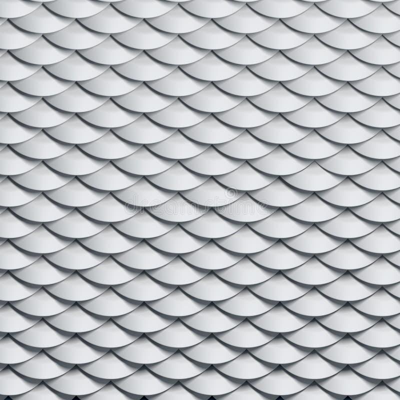 Textura de las escalas stock de ilustración