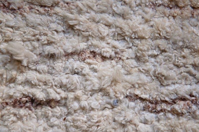 Textura de las lanas foto de archivo libre de regalías