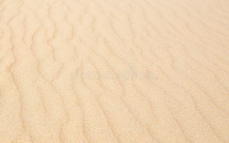 Textura de las ondas de arena con el modelo diagonal foto de archivo libre de regalías