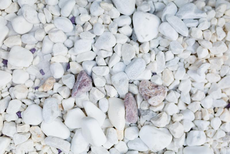 Textura de las piedras blancas imagenes de archivo