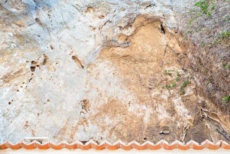 Textura de las piedras de la cuesta de montaña fotos de archivo