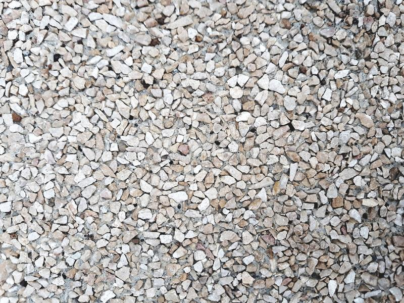 Textura de las piedras del guijarro de la arena fotos de archivo