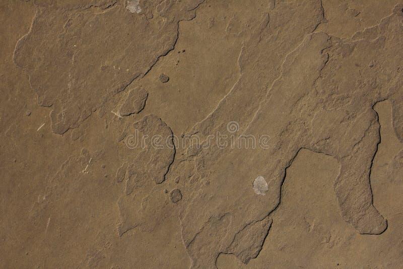 Textura de las placas de Brown en el piso imágenes de archivo libres de regalías