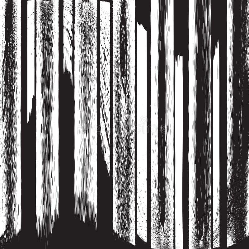 Textura de las tiras ilustración del vector