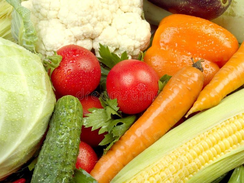 Textura de las verduras frescas fotos de archivo libres de regalías