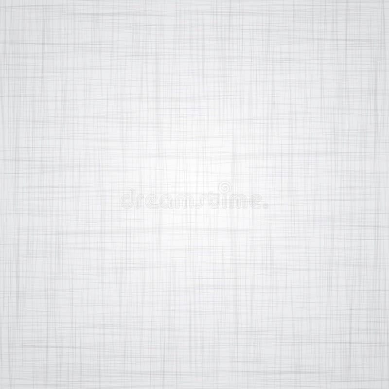 Textura de linho branca ilustração royalty free