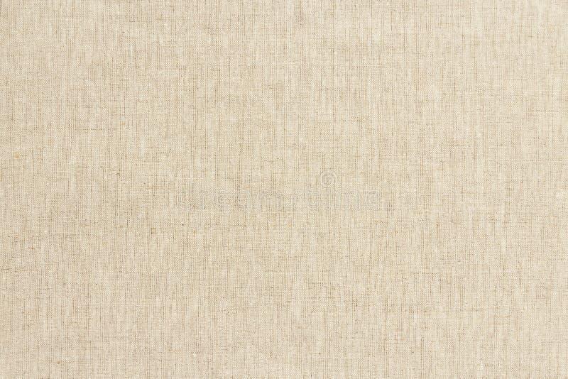 Textura de linho de Brown para o fundo fotos de stock