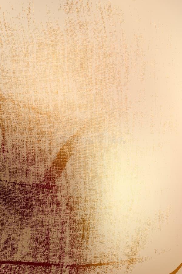 Textura de linho da aflição ilustração royalty free