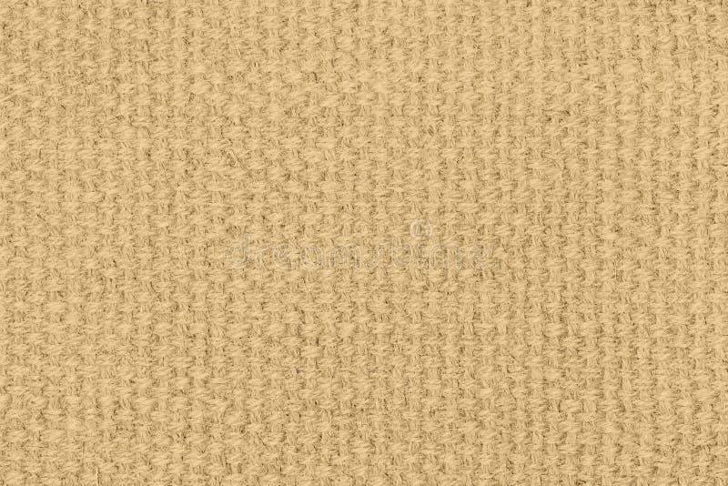 Textura de lino amarilla para el fondo fotografía de archivo libre de regalías